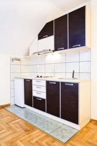 Nya köksluckor i köket