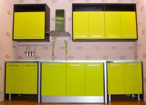 Färggranna köksluckor kan vara fina och ge köket lite liv.
